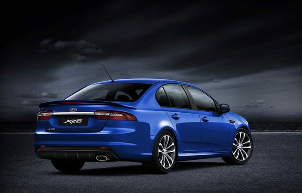 The final Ford Falcon model code will be FX G.