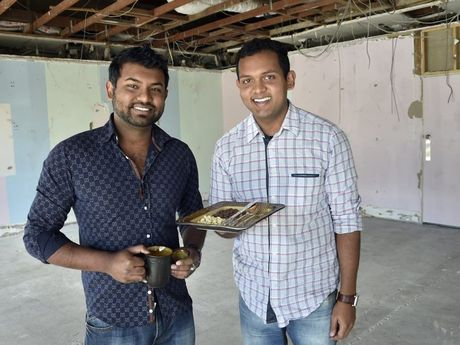 Brothers, Adnun Khan (left) and Albab Khan are set to open Toowoomba's first chocolateria, Cioccolato.