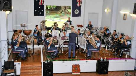 The Excelsior Band will play their end of year concert this weekend.