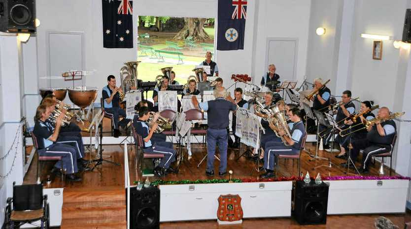 The Maryborough Excelsior City Band will perform at its annual concert on Sunday, August 24.