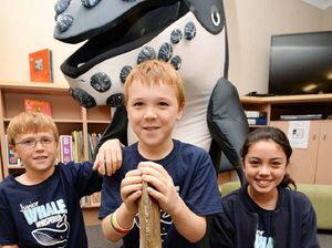 Rocky primary school students vying for whale of a prize