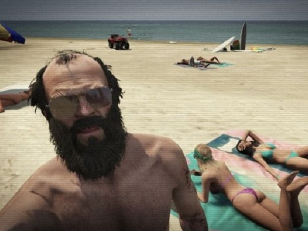 A screenshot from Grand Theft Auto 5