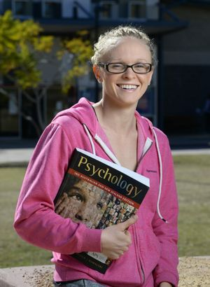 2014 Commonwealth Games 400m Individual Medley bronze medalist Keryn McMaster is back home in Ipswich and back into training and studying for her psychology degree at USQ Springfield. Photo: Rob Williams / The Queensland Times