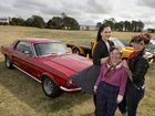 Endeavour hitches a ride at classic car show