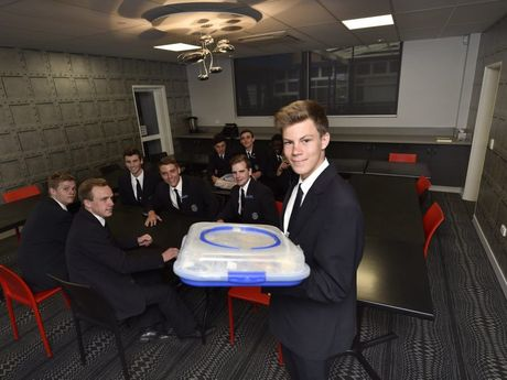 Wade Hall serves up a treat in the St Mary's College new restaurant.