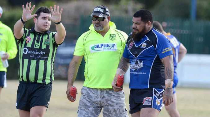 LACKING DISCIPLINE: After two stints in the sin-bin last weekend Sione Piutau admits Goodna's discipline needs to improve with finals looming.