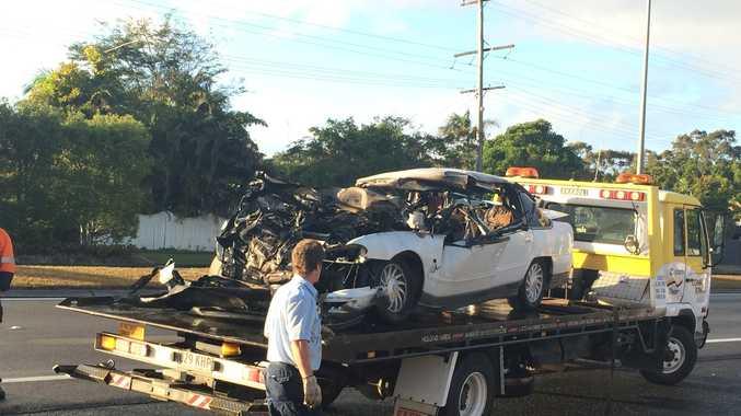 A Queensland Ambulance Spokeswoman said the crash occurred on Nicklin Way shortly after 3am.  Photo: Megan Mackander
