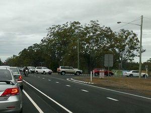 Traffic banked up near M'boro showgrounds