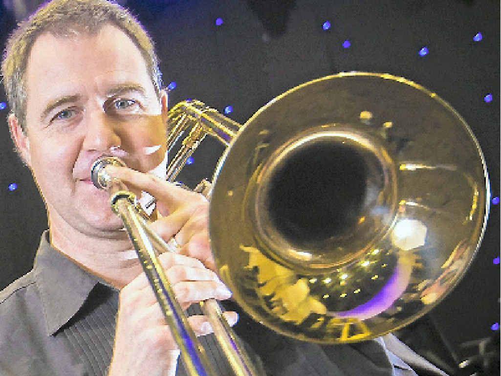 POWER: Queensland Symphony Orchestra principal trombonist Jason Redman.