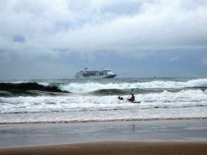 Bad weather kills P&O cruise ship boost for Coast