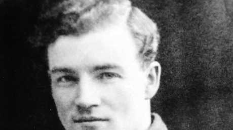 HERO: Fred Hocking survived the horrors of the First World War.