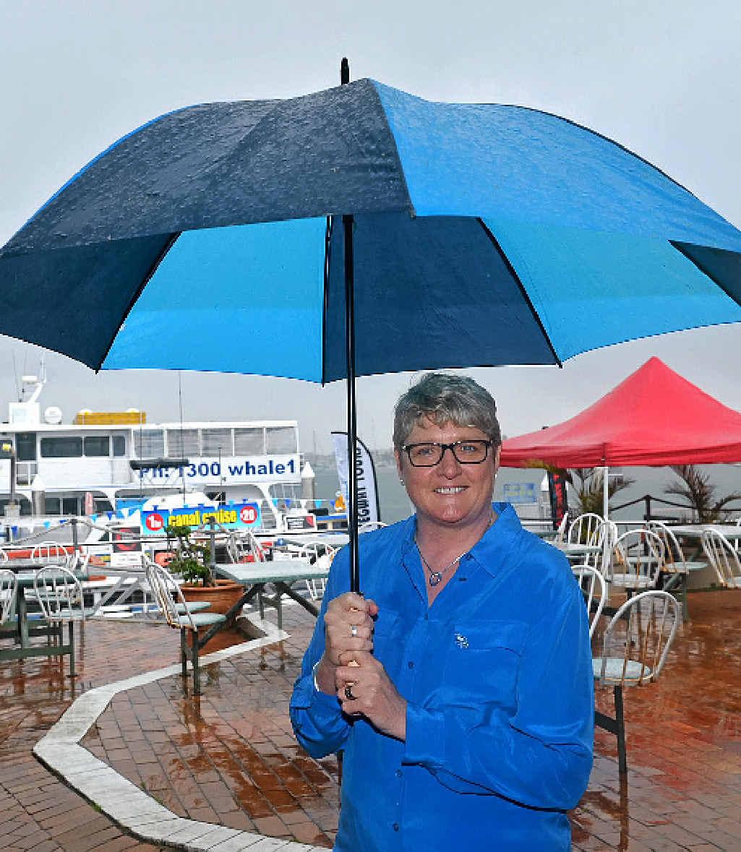 STILL SMILING: Tammy Marshall, senior vice-president of P&O; Cruises.