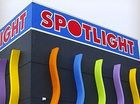 Spotlight advertises for employees at new Bay shop