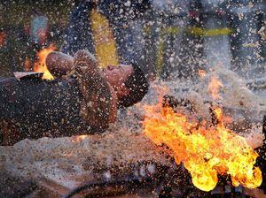 PHOTOS: Mudder course tougher than ever