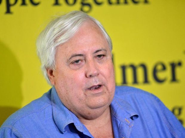 Clive Palmer has hinted at an advertising blitz, saying his party would spare no expense.