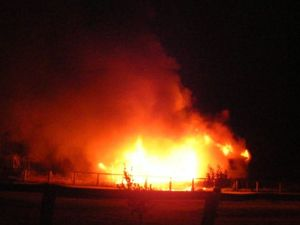 Home owner relieved no one injured in blaze