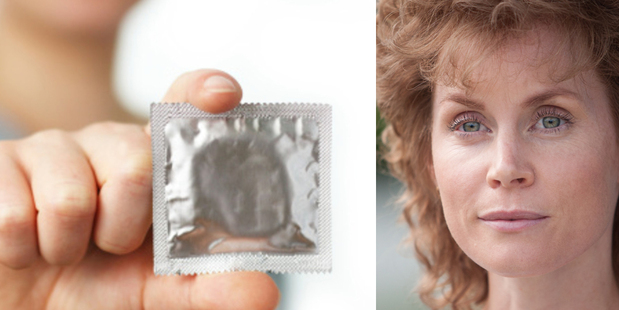 A condom ad during the film 'Consent', based on one of New Zealand's highest-profile rape trials