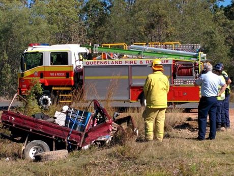 Two Toowoomba men were killed in this crash at Agnes Water.
