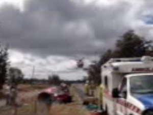 New England Highway crash