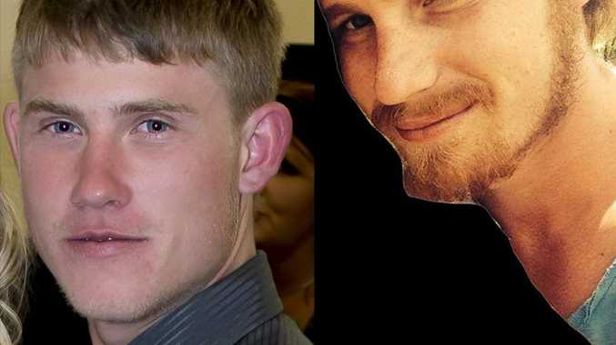 Toowoomba workmates Adam Schwerin (left) and Nic Burton were killed when their ute left a road near Agnes Water in Central Queensland.