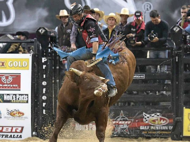 ROUGH RIDER: Four-time PBR Australia champion David Kennedy, pictured on Infusion, is set to compete in the Rural Weekly Live Series which starts in Rockhampton next month.