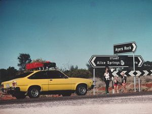 Lindy Chamberlain's yellow Torana now on display