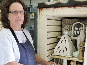 Yeppoon Beach Potters dish out greetings on open day