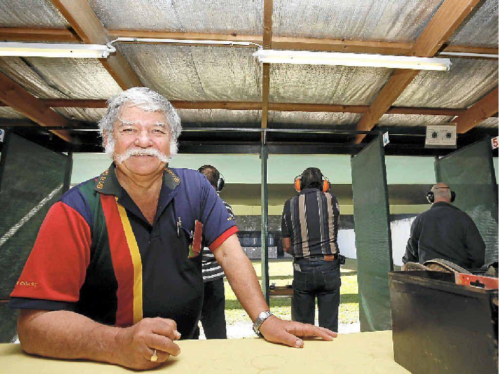PUSHING THE BENEFITS: Sunshine Coast Shooting Club vice-president Russell Davis.