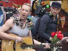 Coldplay's Chris Martin and Jonny Buckland