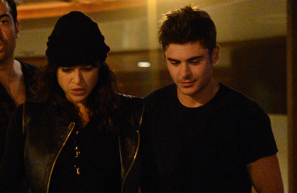 Zac Efron and Michelle Rodriguez