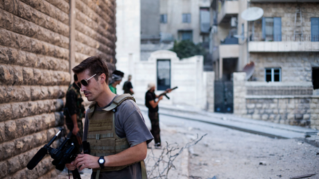 James Foley in Syria, 2012