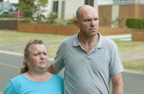 ( from left ) Joanne and John Lasker. Their son Jake Lasker was murdered at his Hogg St home. Photo Nev Madsen / The Chronicle
