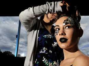 Wollongbar TAFE makeup students