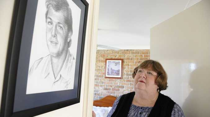 HINDSIGHT: Beth Ellis remembers her son Robert, who died 25 years ago. She says the loss has been devastating to her family. Photo: Debrah Novak / The Daily Examiner