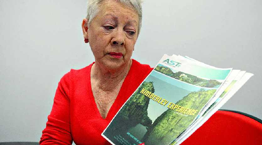 RIPPED OFF: Judy Hayhoe is one of five Bundaberg ladies that have had their travel holiday to the Kimberleys cancelled.
