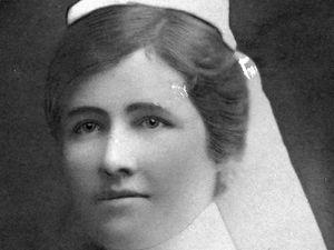 Nurse served in both wars
