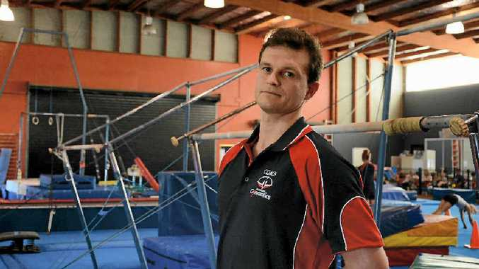 AIMING HIGH: Gladstone Gymnastics newest coach Max Barabach's priority is winning medals.