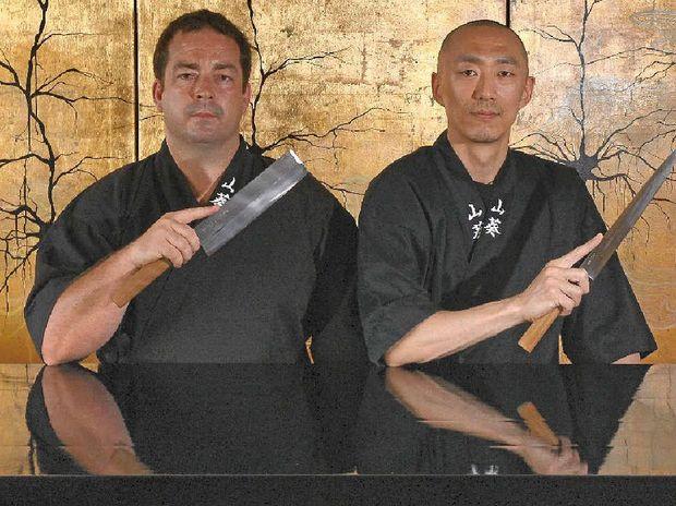 BEST IN AUSTRALIA: Chefs Zeb Gilbert and Jiro Numata helped Wasabi become Australia's top Japanese restaurant.