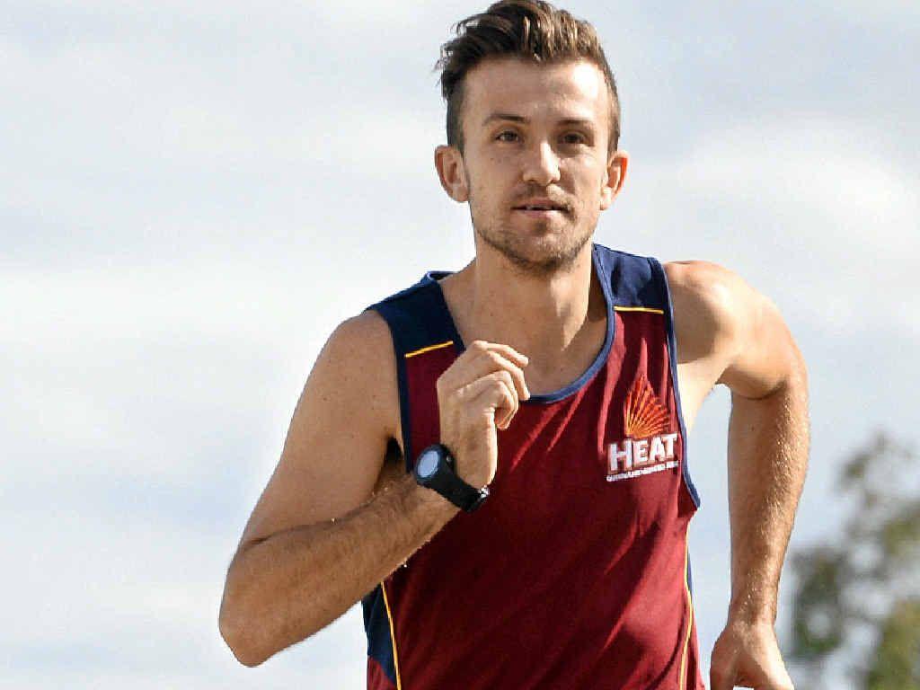 REMARKABLE RISE: Rosewood State High School teacher and marathon runner Clay Dawson.