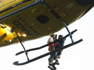 Youth rescued after cliff fall
