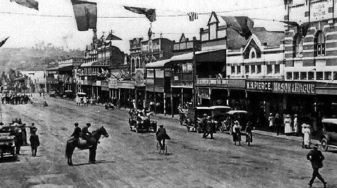 Woodlark Street, Lismore, c.1920