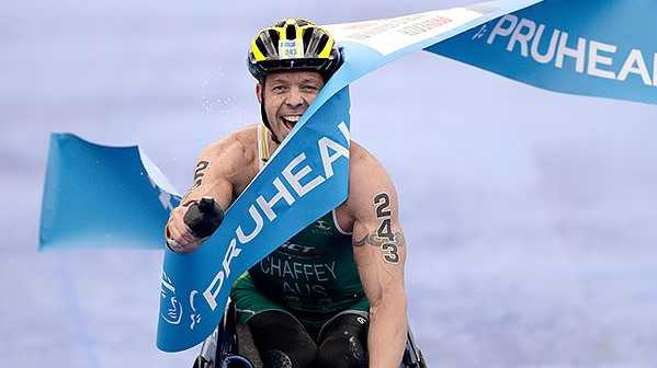 Four-time World Paratriathlon champion Bill Chaffey has had a training accident in Fingal