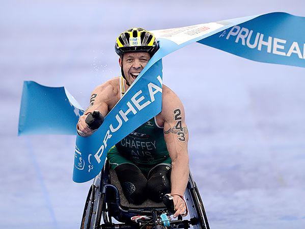 Four-time World Paratriathlon champion Bill Chaffey has had a training accident in Fingal