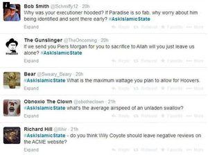 #AskIslamicState hashtag mocks terrorist organisation