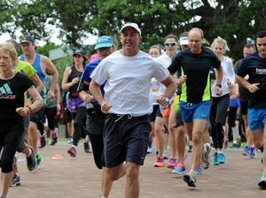 Deputy unhappy after being beaten by Mayor at parkrun