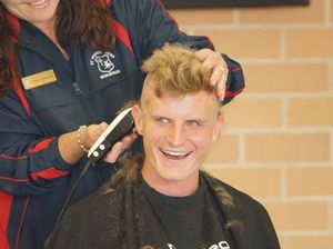 Teacher gets chop in support of family