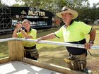 Muster site at Amamoor Creek State Forest taking shape