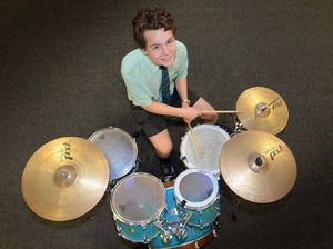Teenage drummer boy Jack beats out the rivals