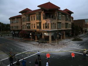 San Francisco rumbles through worst quake since 1989