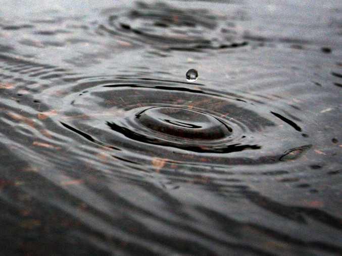 Wooli got 283mm of rain on Sunday night.